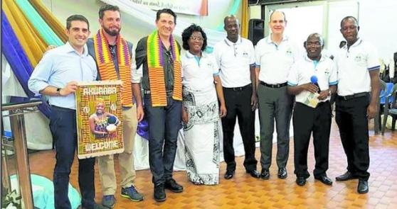 Rassegna stampa. Gazzetta di Reggio. 400 ghanesi insieme a Sant'Ilario