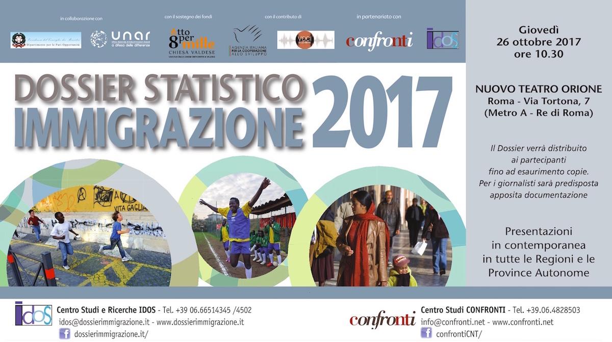 Roma. Dossier statistico immigrazione 2017
