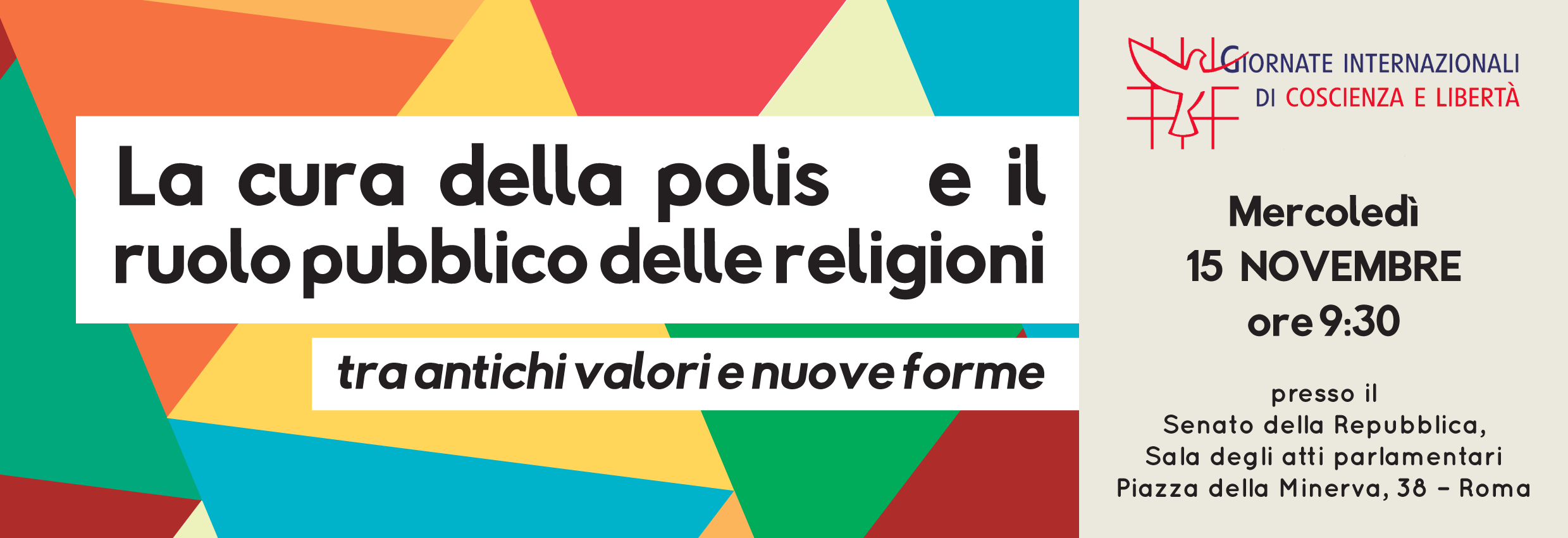Roma. Giornate di Coscienza e Libertà
