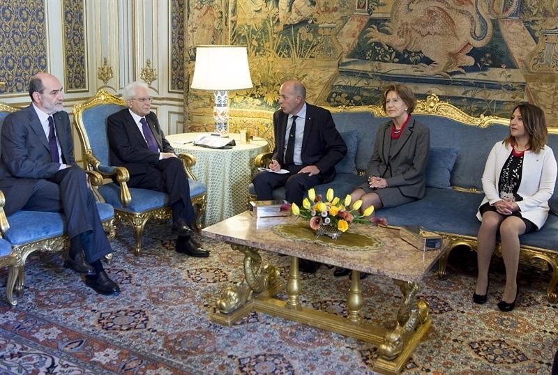 Gli evangelici incontrano il presidente della Repubblica Sergio Mattarella
