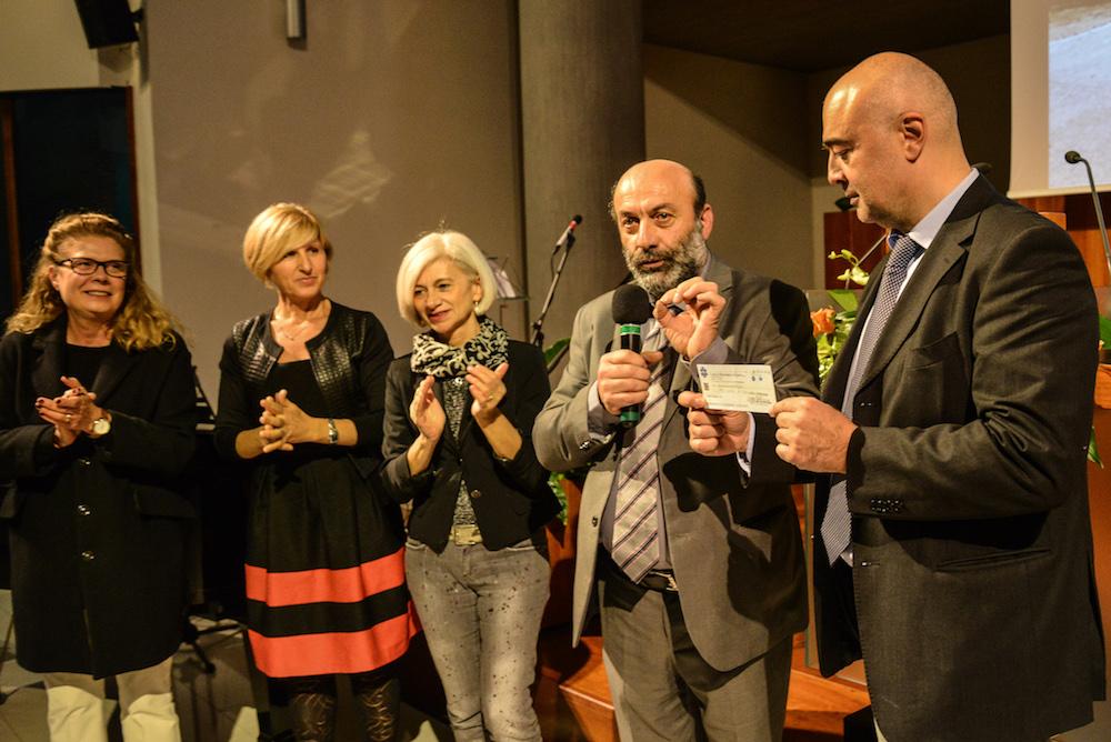Adra Romagna consegna 6.200 euro al sindaco di Visso