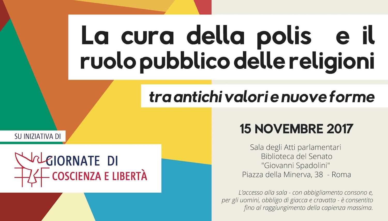 Roma. Al Senato il convegno della terza edizione delle Giornate di Coscienza e Libertà