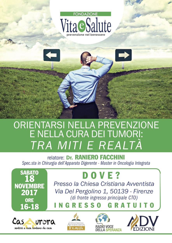 Firenze. Orientarsi nella prevenzione e nella cura dei tumori
