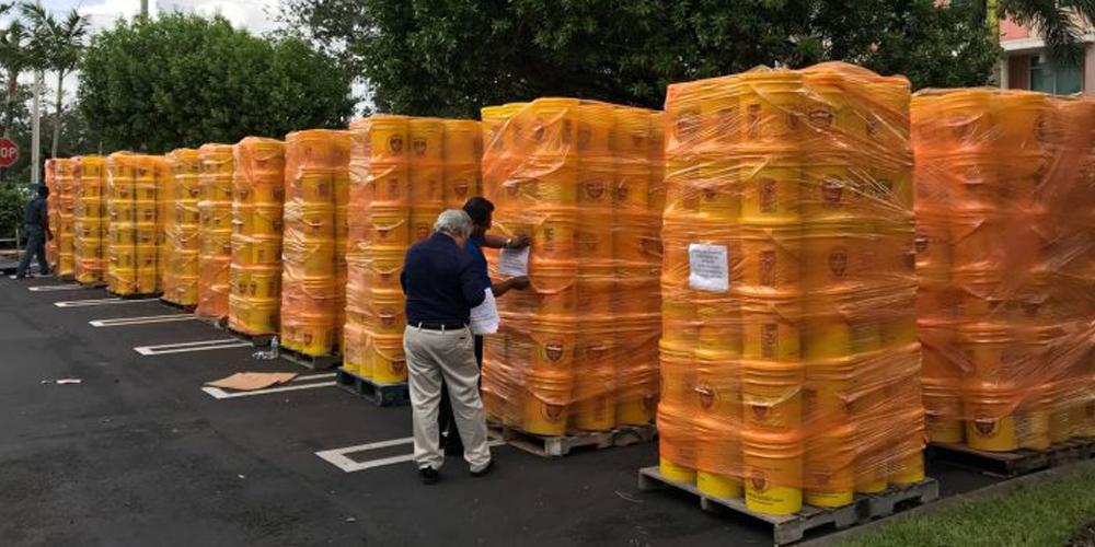 Continuano gli aiuti alle famiglie dei Caraibi colpite dagli uragani di inizio autunno